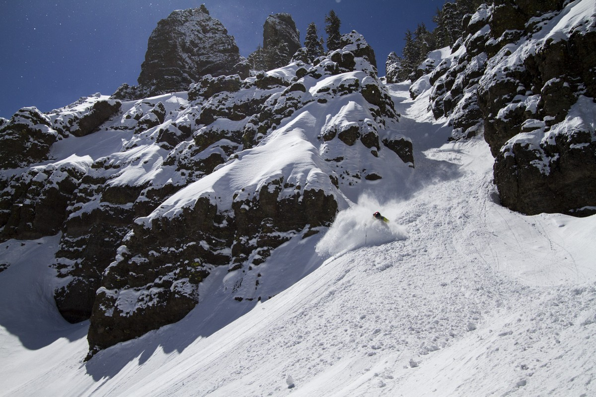 Brennan Lagasse on Carson Pass, April 2013
